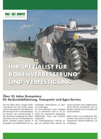 TAS Burgstädt - Broschüre