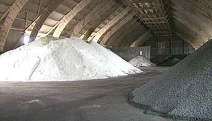 1.500 t Salzlager in Klaffenbach